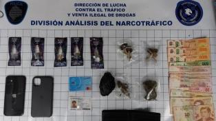 Detuvieron a un dealer que comercializaba marihuana sintética
