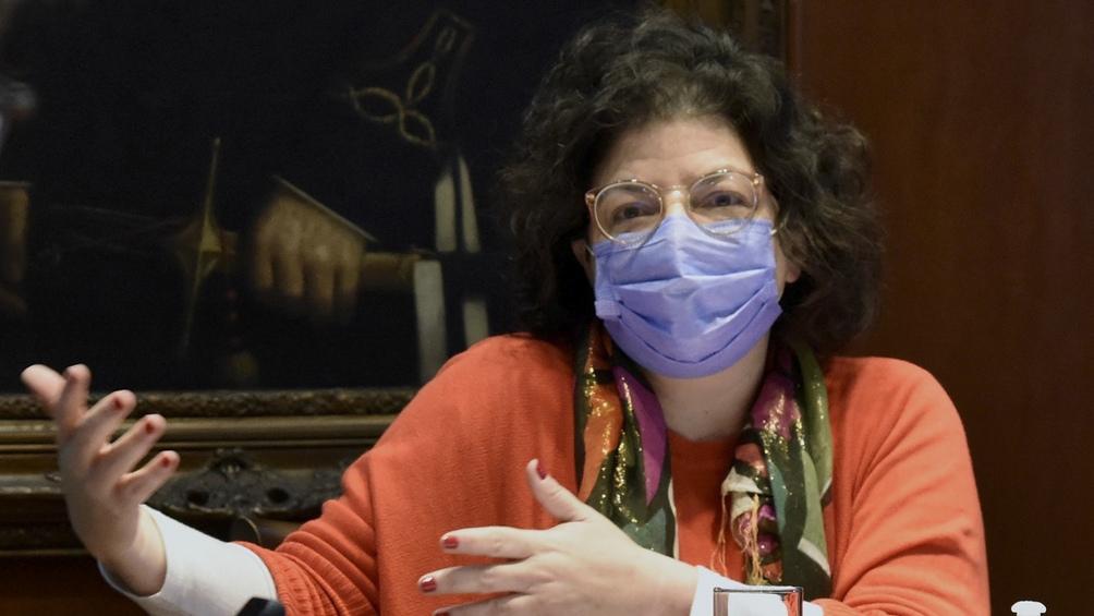 Ministra de Salud, Carla Vizzotti