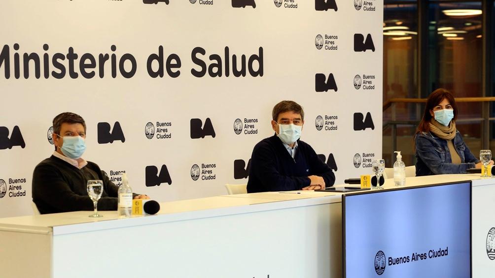 El ministro de Salud porteño anunció que se abrió este viernes el empadronamiento para las personas de 35 a 39 años