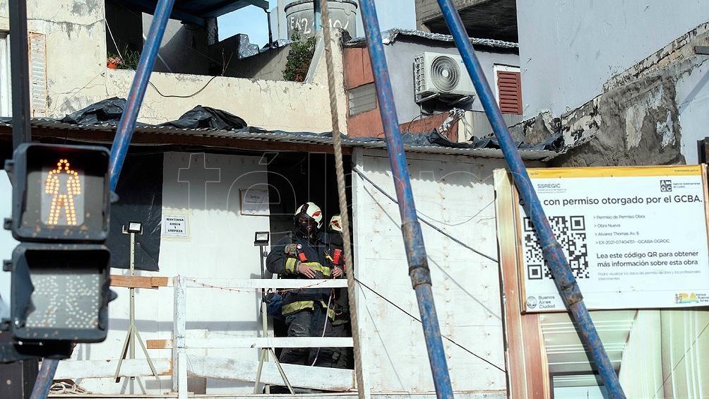 La obra se encuentra situada en la esquina de las avenidas Coronel Niceto Vega y Dorrego. Foto: Victoria Egurza.