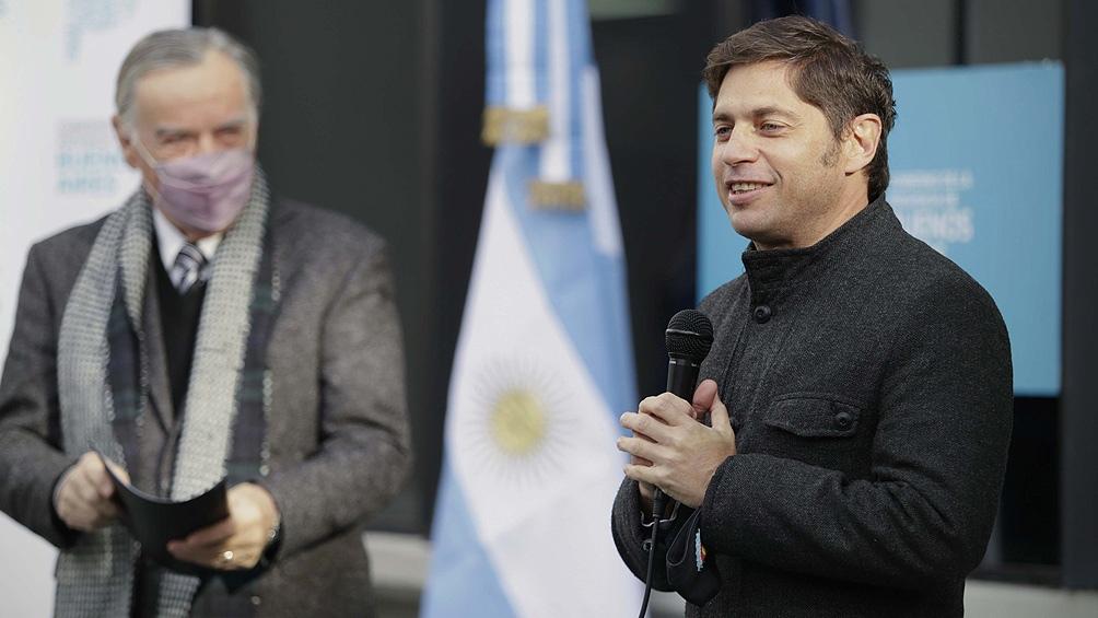 """Kicillof: """"Queremos devolverle a La Plata el lugar histórico que tuvo y fue perdiendo"""""""