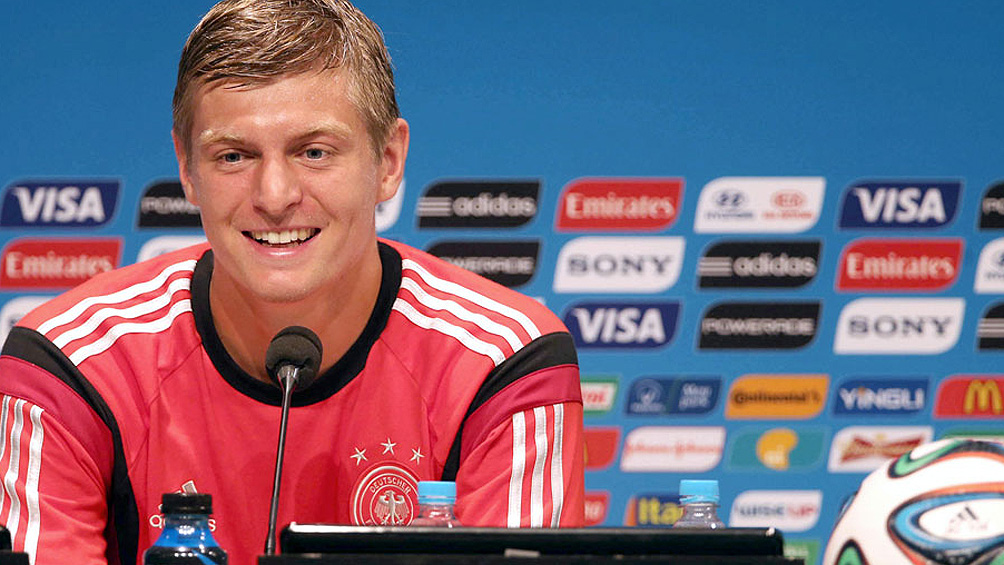 Toni Kroos anunció que no jugará más para el seleccionado de Alemania