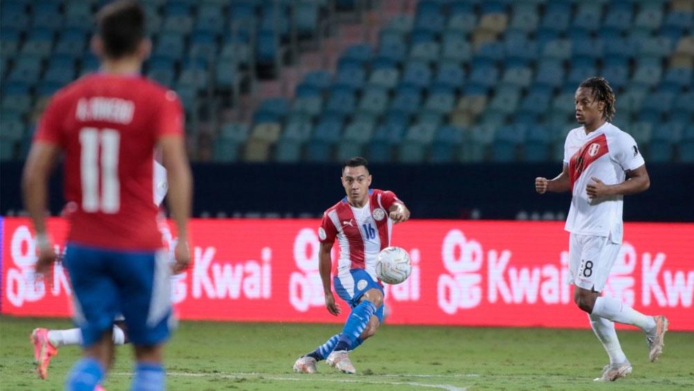 Paraguay y Perú igualan en un duelo a puro gol (Foto: @CopaAmerica)