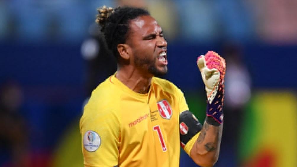 Pedro Gallese, atajó un penal clave para la victoria sobre Perú (Foto: @CopaAmerica)