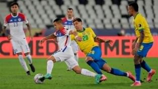 El minuto a minuto de Brasil y Chile