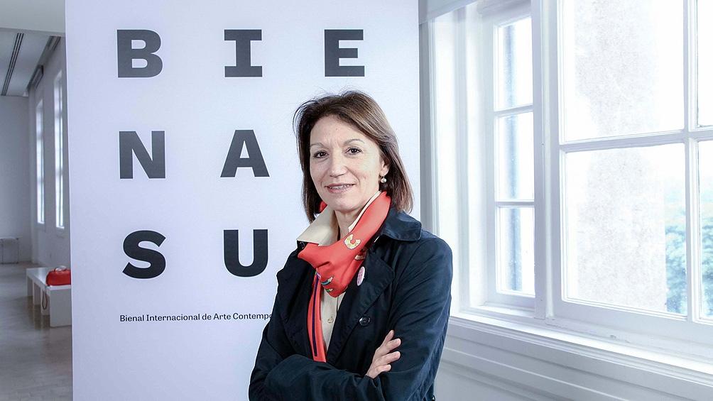 Diana Weschler, curadora.