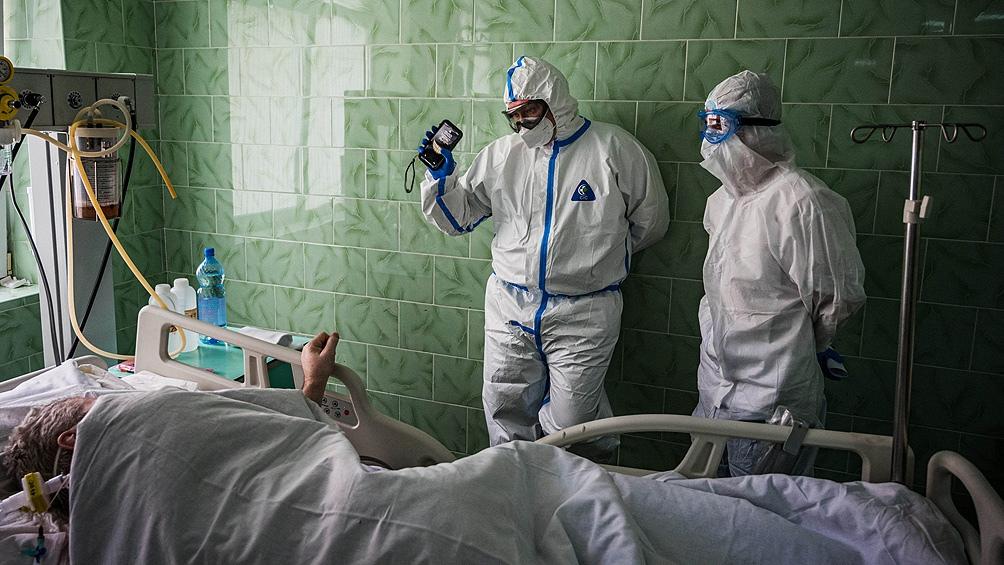 En Rusía hubo 890 muertos en un día (Foto: Archivo AFP).