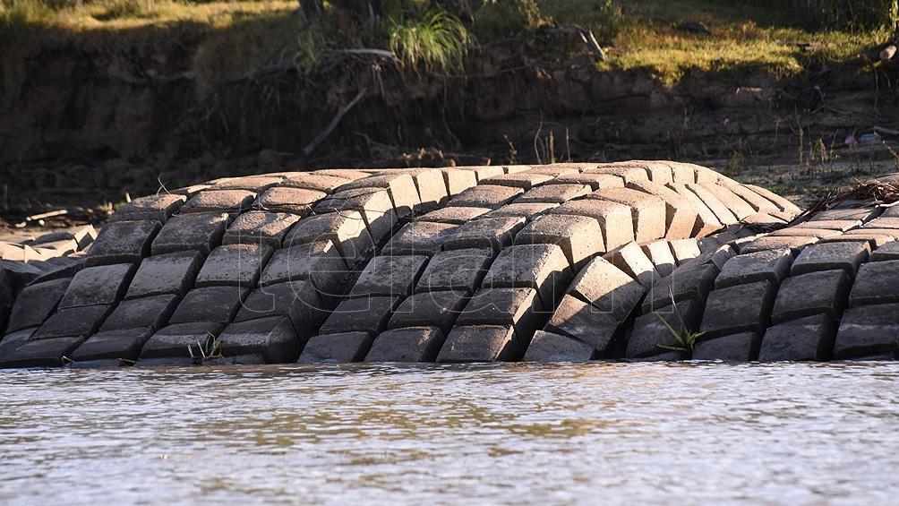 El río Paraná continúa descendiendo y llega a niveles históricos