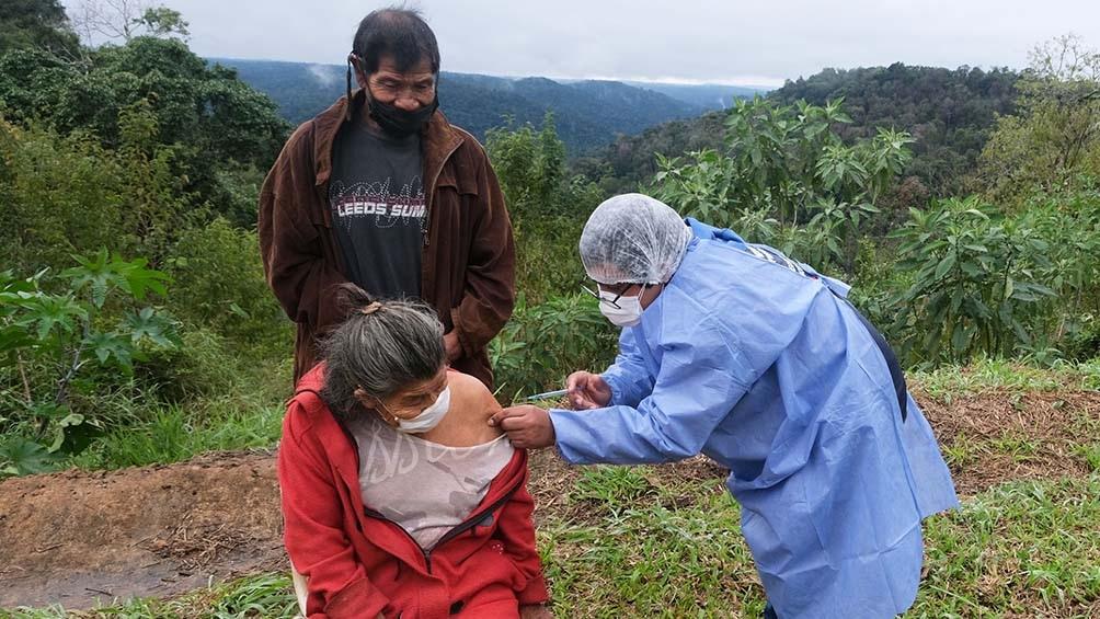 En Misiones existen 127 comunidades de la etnia mbyá guaraní, en las cuales viven un total de 11.500 personas. Foto: Germán Pomar
