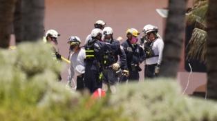 Rescataron el cuerpo de la argentina Graciela Cattarossi del edificio colapsado en Miami
