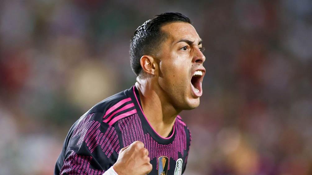 El delantero Rogelio Funes Mori debutó con un gol en el seleccionado mexicano