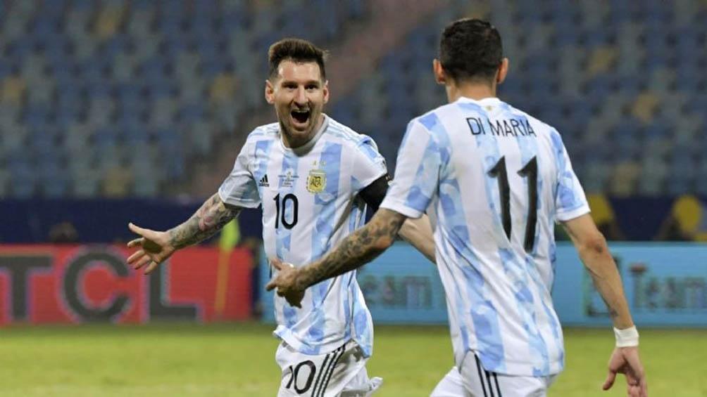 Messi, genio y figura de este equipo.