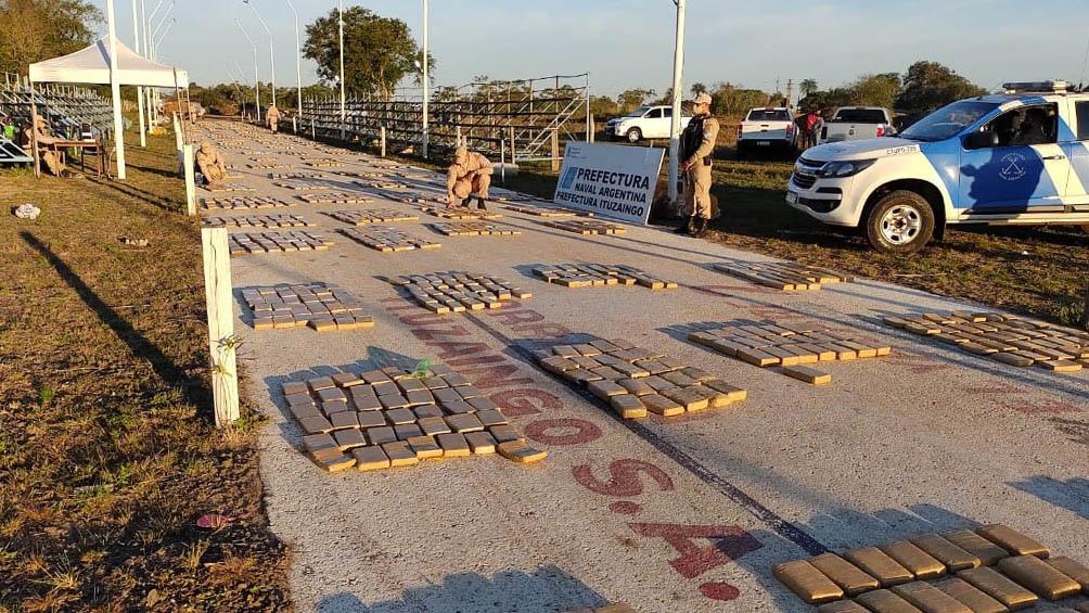 El cargamento quedó a disposición del Juzgado Federal 2 de Corrientes.