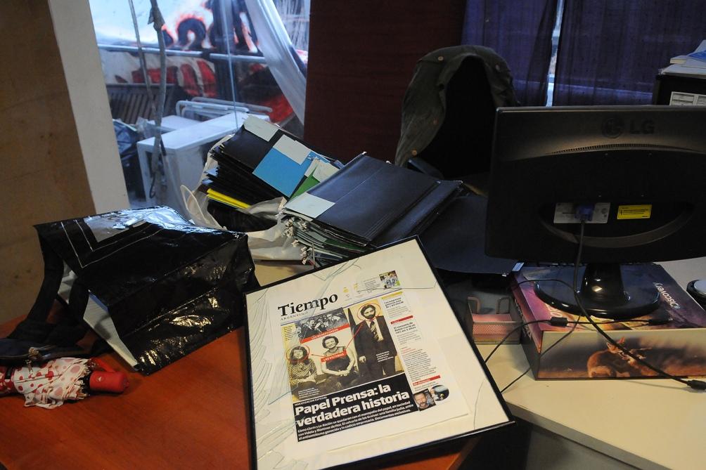 A cinco años del ataque contra Tiempo Argentino y Radio América, investigan cuál fue el rol de la policía.