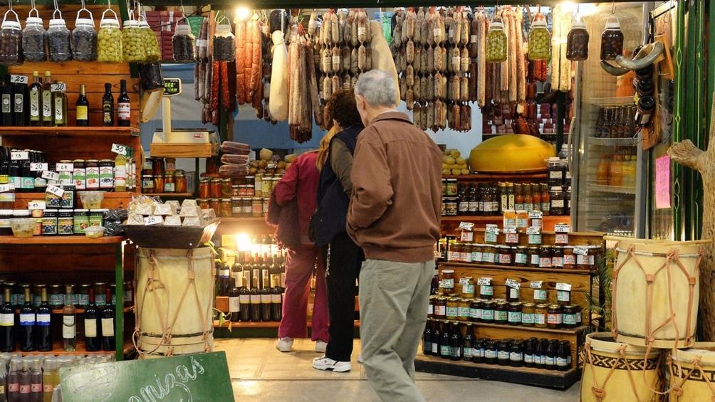 La gastronomía regional tuvo un importante auge en la ciudad, tanto en la proliferación de restaurantes como de puestos de venta.