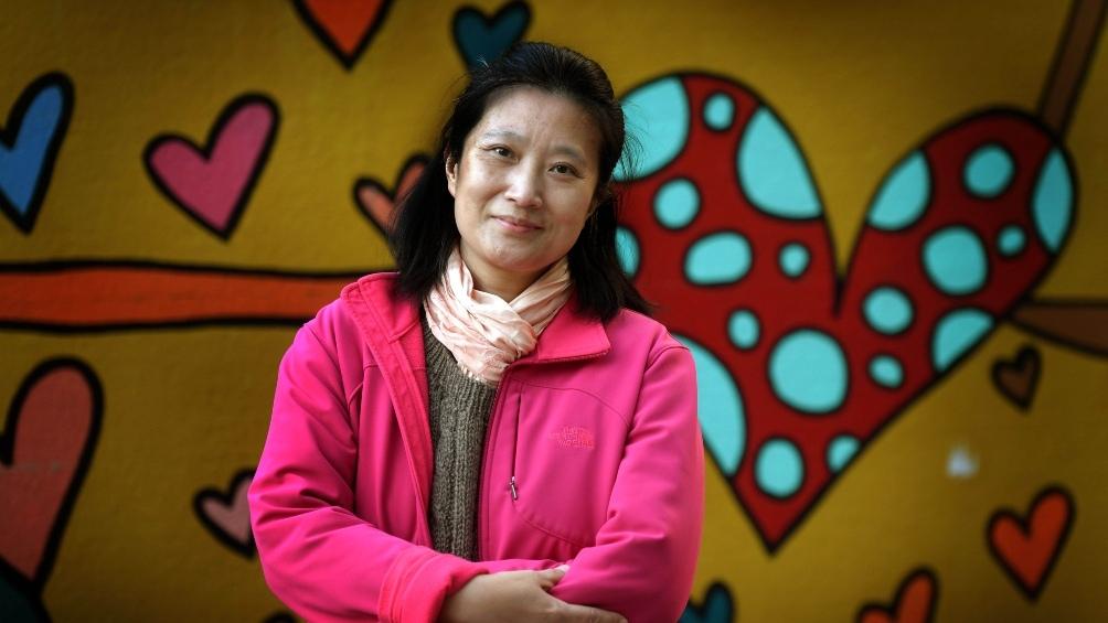 El abuelo de Qian Ma fue el primero de la familia en llegar al país, en los 70. (Foto Julián Álvarez).