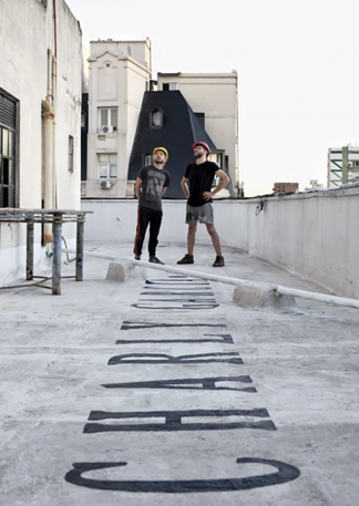 El homenaje de la terraza.