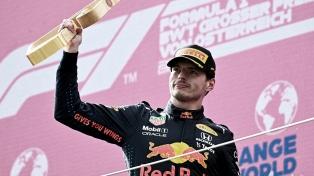Verstappen volvió a ganar en Austria y estira su ventaja en el Mundial