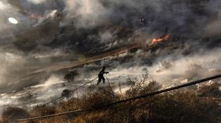 Tras dos días de lucha, el incendio forestal está bajo control