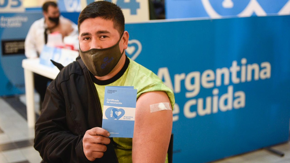 El Plan Estratégico de Vacunación contra el coronavirus registró una nueva semana récord al alcanzar las 2.492.549 aplicaciones en los últimos siete días.