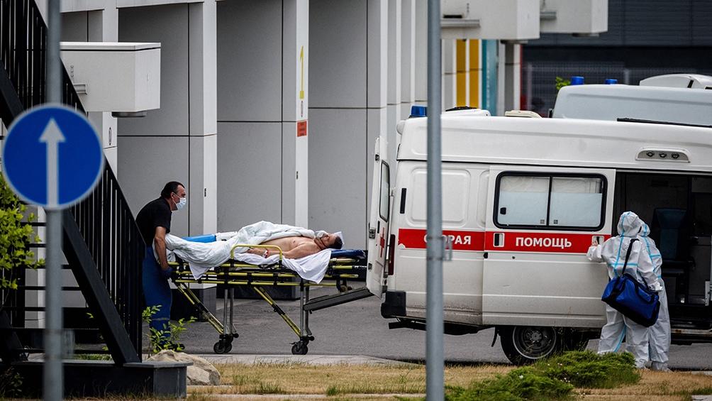 Preocupante situación en Rusia con récord de muertes