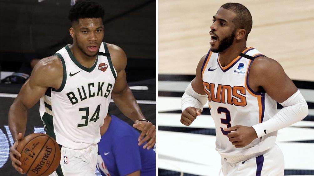 Giannis Antetokounmpo versus Chris Paul, el duelo aparte de esta final de la NBA.