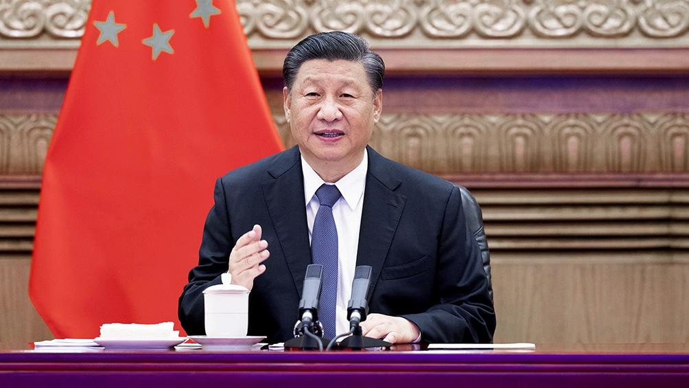 El acto del centenario de la fundación del Partido Comunista de China (PCCh), fue encabezado por el presidente del país asiático, Xi Jinping.