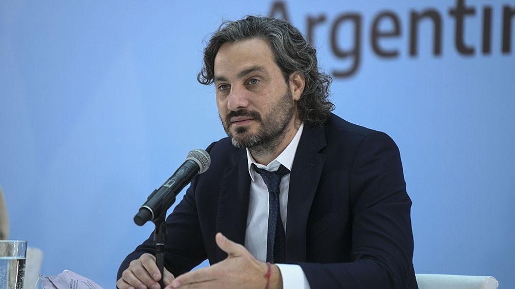 """Cafiero pidió dejar atrás """"ese modelo de especulación financiera"""", que ya se sabía que """"no iba a resultar en la Argentina""""."""