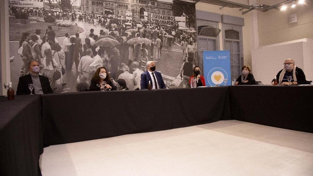 La Mesa se reunió por primera vez en el predio de la ex ESMA, tras su creación oficializada con la resolución 476/2021.