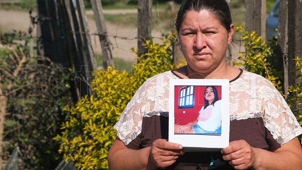 """La joven madre relató que Naim Soledad comenzó con fiebre y tos, y que los primeros días """"ocultó cómo se sentía"""". Foto: Germán Pomar."""