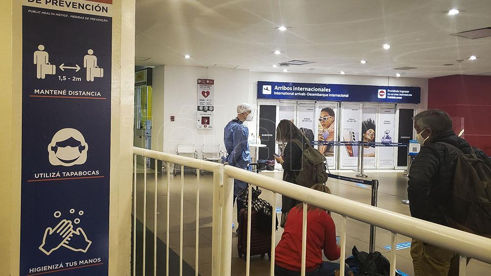 Mendoza, el segundo aeropuerto en el país que comienza a recibir vuelos internacionales