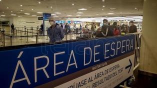 """Carignano: """"Todavía no hay una decisión"""" sobre el cupo diario de ingreso de 600 pasajeros"""