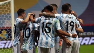 Las estadísticas que dejó la victoria y el pase a la final de Argentina