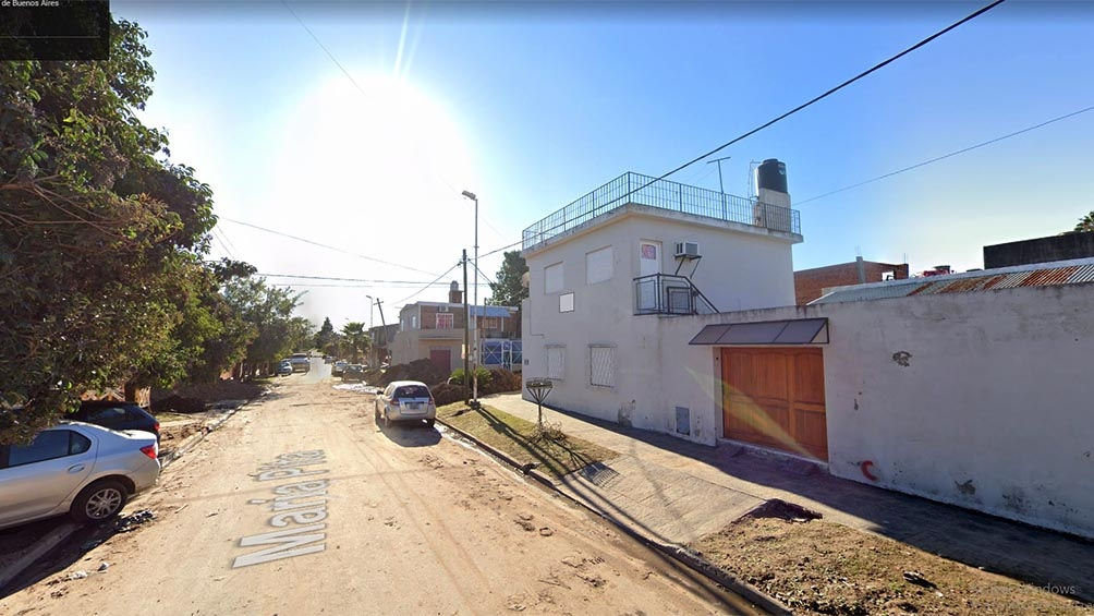 El episodio ocurrió frente a un domicilio de la calle Coronel Montt al 2500 del barrio San Carlos, Rafael Castillo.