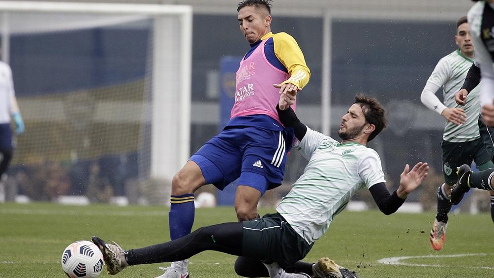 Imágenes de la victoria de Boca ante Sarmiento.