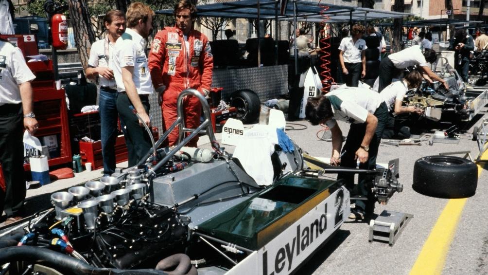 Reutemann en Mónaco, en 1981. Foto: AFP.
