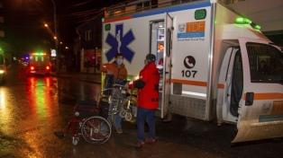 Un incendio en un hospital de Ushuaia obligó a evacuar pacientes