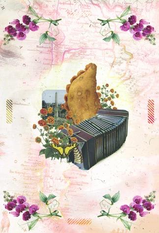 La empanada, uno de los ejes porteños de las ilustraciones de María Reboredo