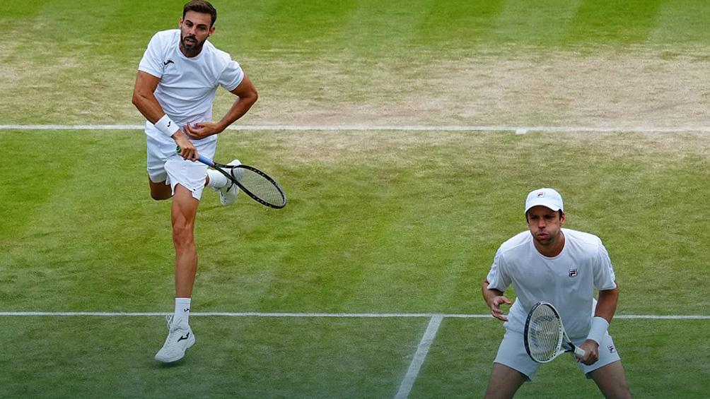 Después de 30 años, Zeballos puso a un argentino en la final de dobles en Wimbledon