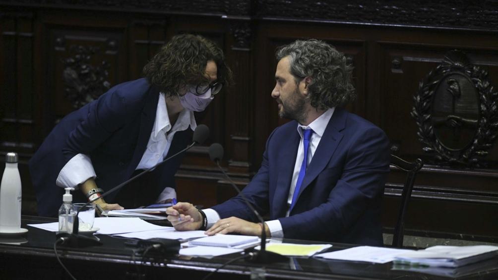 """Cafiero señaló que hay un Gobierno que """"promueve el diálogo político""""."""