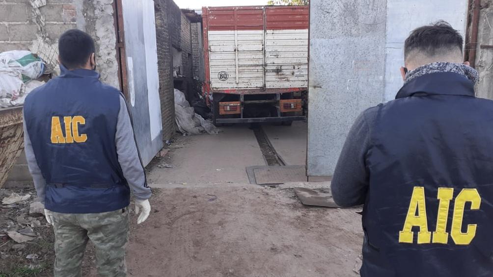 Según fuentes de la investigación, los metales secuestrados tienen una valuación de 13 millones de pesos.