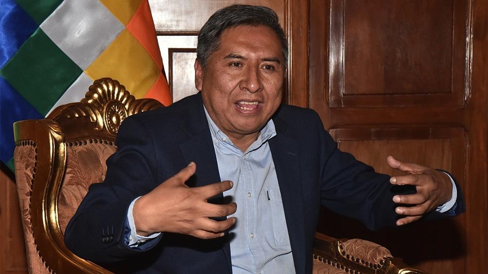 """El canciller dijo que durante el gobierno de Áñez """"se perpetraron ejecuciones extrajudiciales y se cometieron delitos de lesa humanidad"""""""