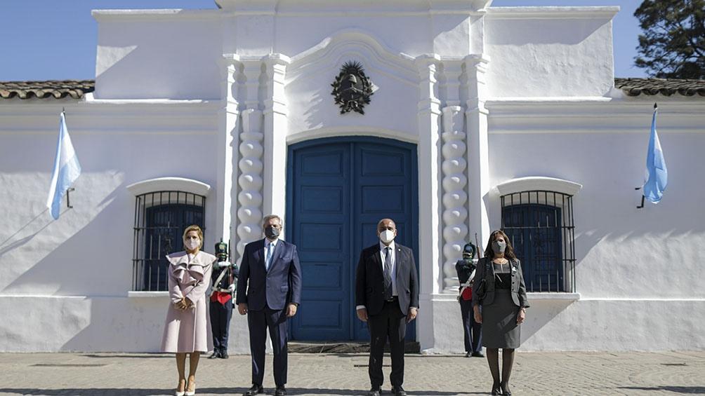El Presidente encabezó la conmemoración central por el 205º aniversario del Día de la Independencia en Tucumán.