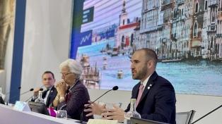 Guzmán solicitó que se aplique un impuesto global de más de 15% a las multinacionales