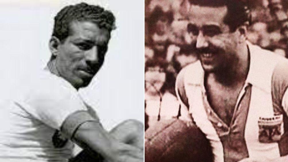 """Zizinho y Norberto """"Tucho"""" Méndez, los máximos goleadores de la Copa América en su historia (Fotos: @Conmebol)"""