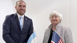 Guzmán se reunió con Yellen en Venecia en la previa de su encuentro con Georgieva