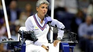Por primera vez, una mujer arbitra la final masculina en Wimbledon