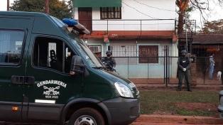 Detienen a tres integrantes de una banda narco manejada desde un penal por su líder preso