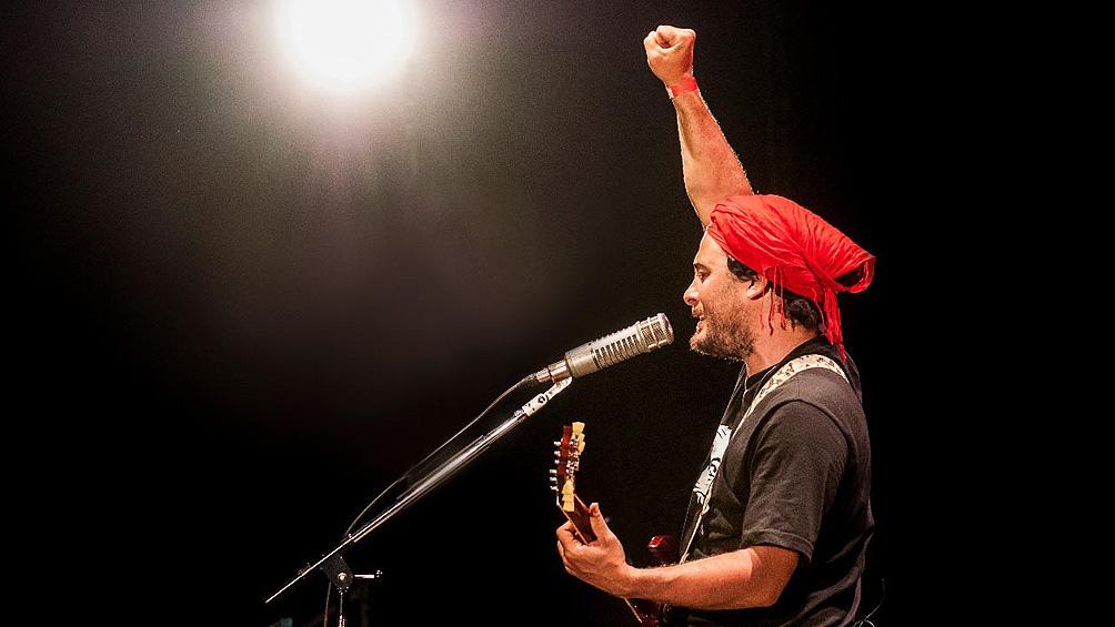 Raly, ligado desde siempre a las luchas campesinas y socio-ambientales a las que acompañó con su música.