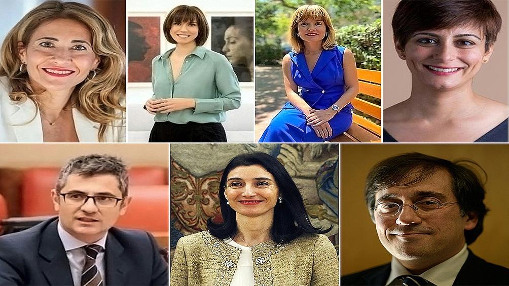 Los cambios en el gabinete español. Foto: AFP.